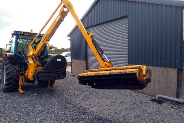 McConnel PA60 Hedge Cutter-3